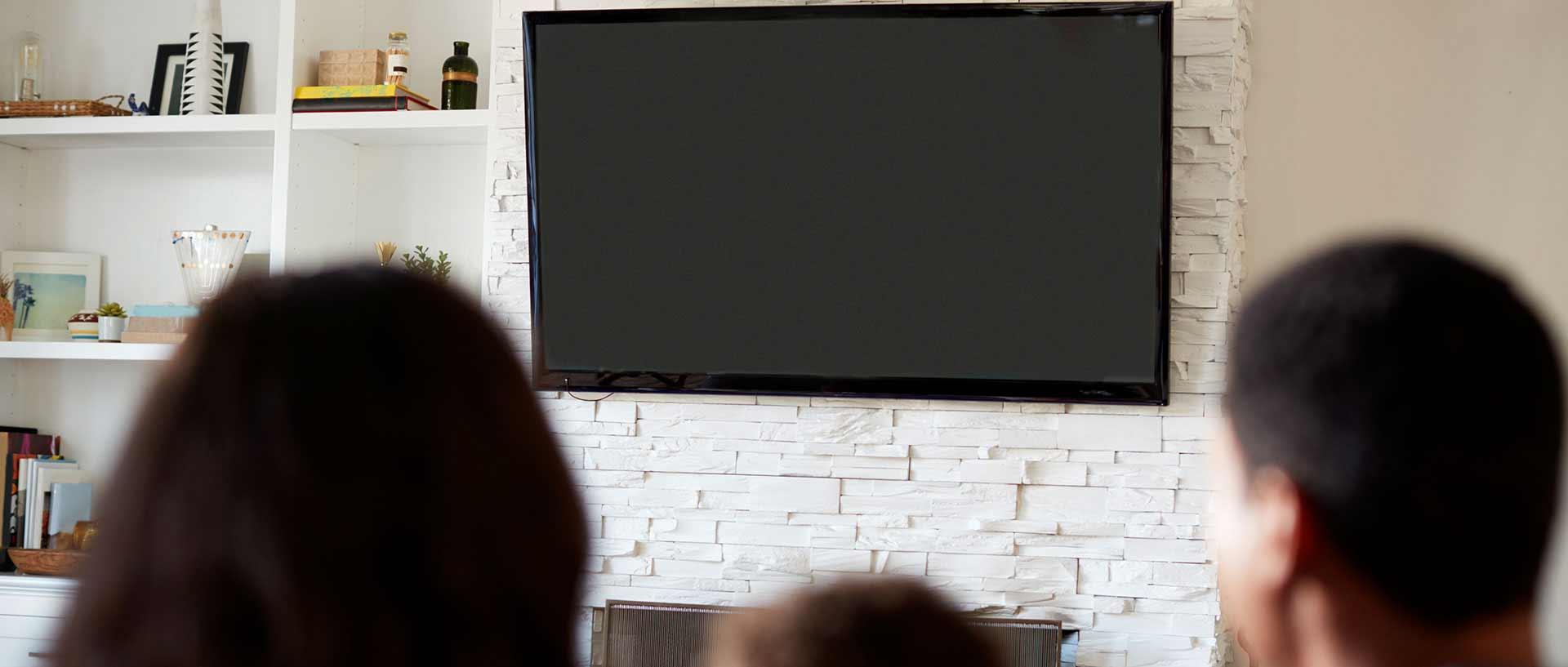 Wall mount tv installation